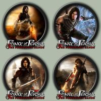 Prince of Persia: The Forgotten Sands Icons by kodiak-caine