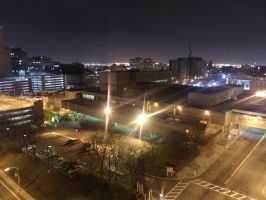 Downtown Newark Essex County College by towerpower123
