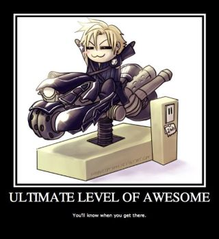 Ultimate Level of Awesome by Doodles-For-Murfs