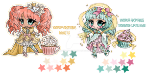Cupcake Sprites ::ADOPTABLE:: 2/2 OPEN -sale- by YamPuff