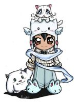 Chibi for Lucifer_Satan -Gaia- by imaginated-friend