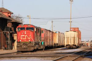 CN 5769 at Stevens Point, WI by laxhogger