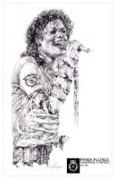 Michael Jackson by mariaflores