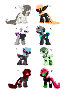 Species Adopts [CLOSED] by Gothamed