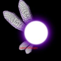 Gift: Purple and White fairy by iverie
