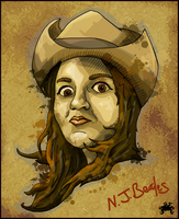 WANTED Caricature by Cique