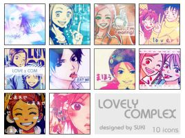 Icons - Lovely Complex by 12-gatsu-no-hana