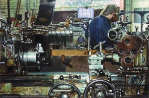-LATHE ROOM- by Phil-Judd
