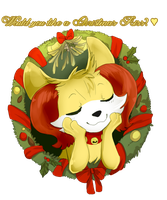 Pandora's Christmas Contribution by StarLynxWish