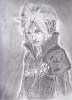 Final Fantasy VII Cloud by LeAniki