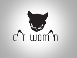Cat Woman Logo wallpaper by yousssry