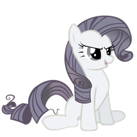 Rarity Discorded 1 - Vector by GuruGrendo