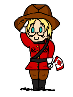Matthew the Mountie by LeoTigress