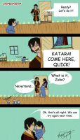 Zuko and His Son Surprise Mom. by livefreeordienow