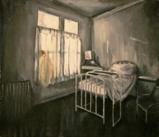 The Hospital Bed by Blind-Ace