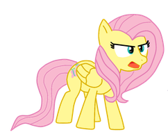 Angry Fluttershy by xXMedi-Viper-RoseXx