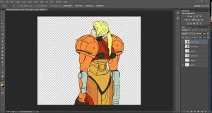 Metroid Project Progress by SketchyBehavior