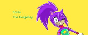Stella The Hedgehog by Grifessa