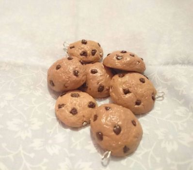 Cookies! Clay Charm. by shannon77
