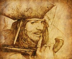 Jack Sparrow by johnstiles