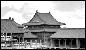 Forbidden City by ackeibler