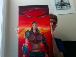 Soldier of love progress 5 by Cellaneo