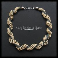 Spiraling ivory by Cayca