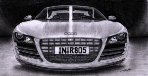 Audi R8 by Giant-Iceberg