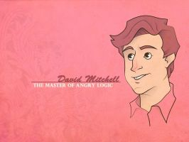 David Mitchell by sn0otchie
