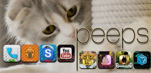 Peeps - icon pack by guriroyals