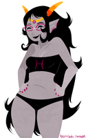 Feferi Cheesecake by Cursed-cat