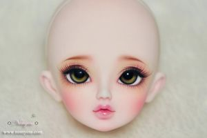 My BJD re-face up by kwangelity