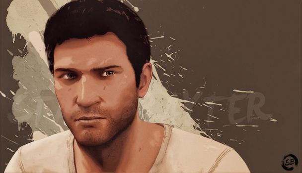 Nathan drake by OropDead