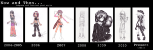 Now and Then: Compare and Contrast Past Works... by yashigirl09