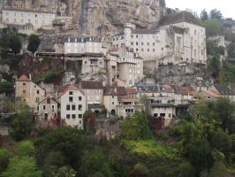 Rocamadour - full view 3 by HermitCrabStock
