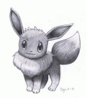 Eevee (Pokemon) by MarkusBogner