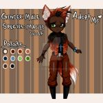 Auction Adoptable: Maned Wolf Boy by ZeroJigoku