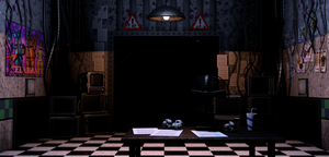 Cinema4D Five Nights at Freddy's 2 Office by GaboCOart