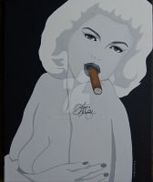Mansfield with Cigar by Paul5252