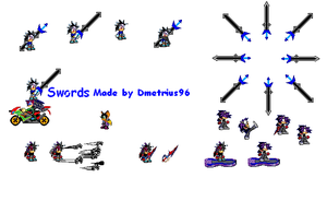 cloud the hedgehog sprites by jaquille1