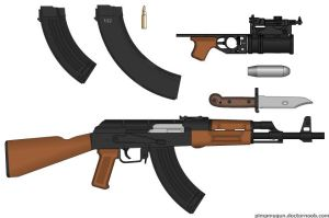 AK-47 by GeneralTate
