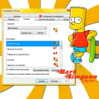 -Cursor Bart Simpson- by TeoOrellana