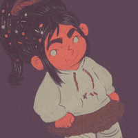 palette meme request-vanellope by X3carlyX3