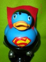Superman Rubber Duck Revamp by Oriana-X-Myst