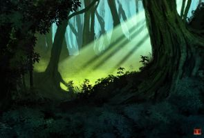 Forest by UltimaDX