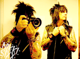 Nikki Sixx by starchild-rocks