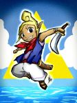 Legend of Zelda Wind Waker: Tetra by Smudgeandfrank
