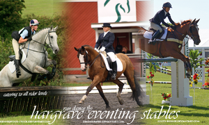 hargrave eventing by FallenShandeh