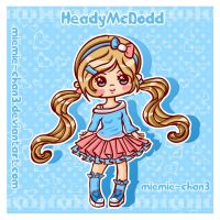 kawaii HeadyMcDodd by miemie-chan3