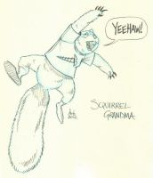 19 - Squirrel Grandma by DBed